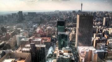 Centro de Joanesburgo, África do Sul