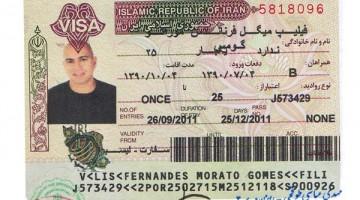 Visto para o Irão