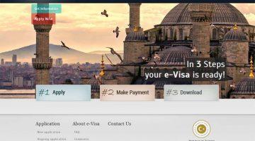 Como tratar do visto para a Turquia online