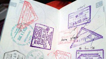 Pedir um segundo passaporte - vistos