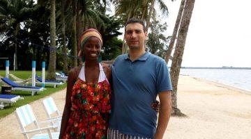Artur Cima í Abidjan