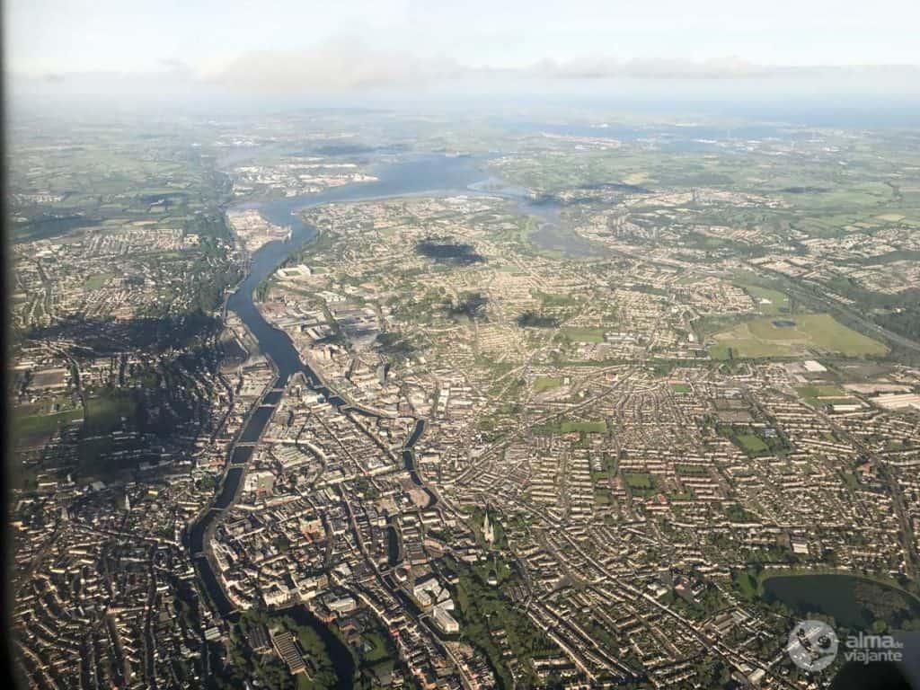 Vista aérea de Cork