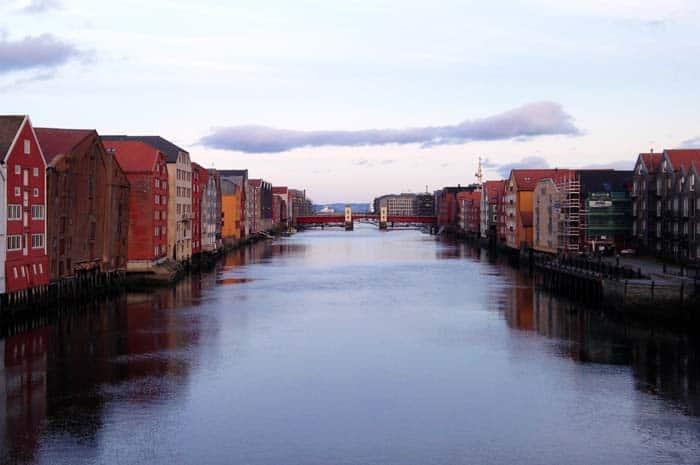 Rio Nivelva, Trondheim