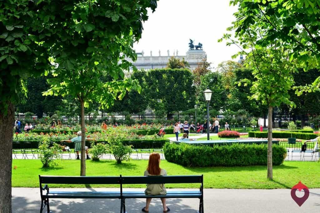 Visitar Viena: Volksgarten