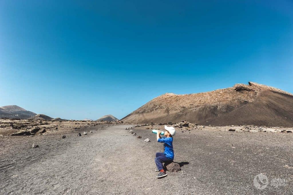 Trilho do Vulcão do Corvo, Lanzarote