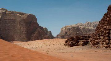 Pouštní Wadi Rum