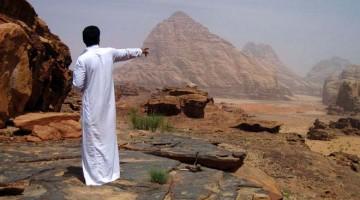 Wadi Rum, o deserto vermelho
