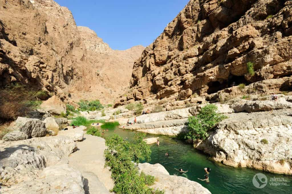Canyon Wadi Shab