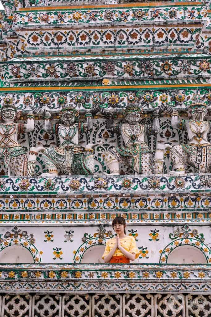 Wat Arum (Templo do Amanhecer), Bangkok