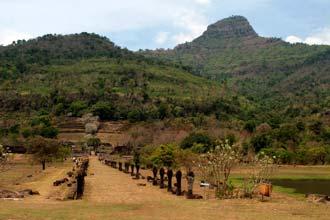 Ruínas de Wat Phu