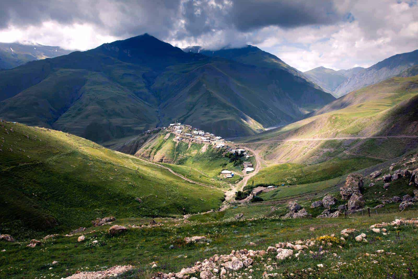 Aldeia Xinaliq, Azerbaijão