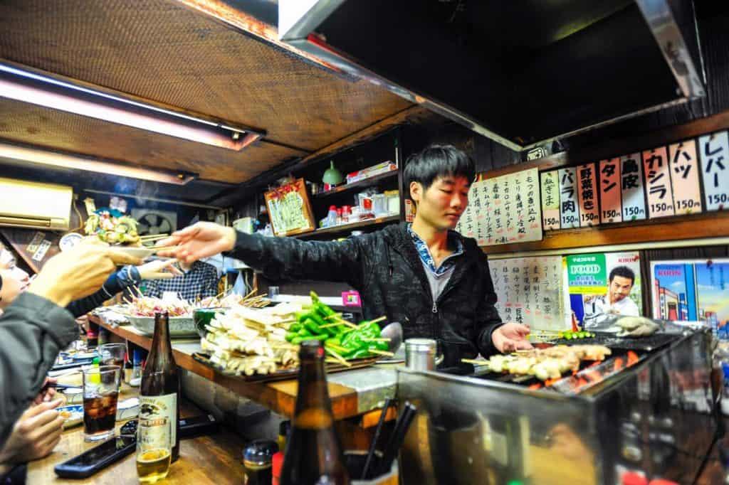 Piss Alley, em Tóquio