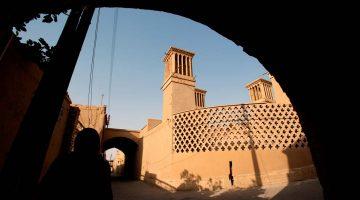 A história do telefone perdido em Yazd