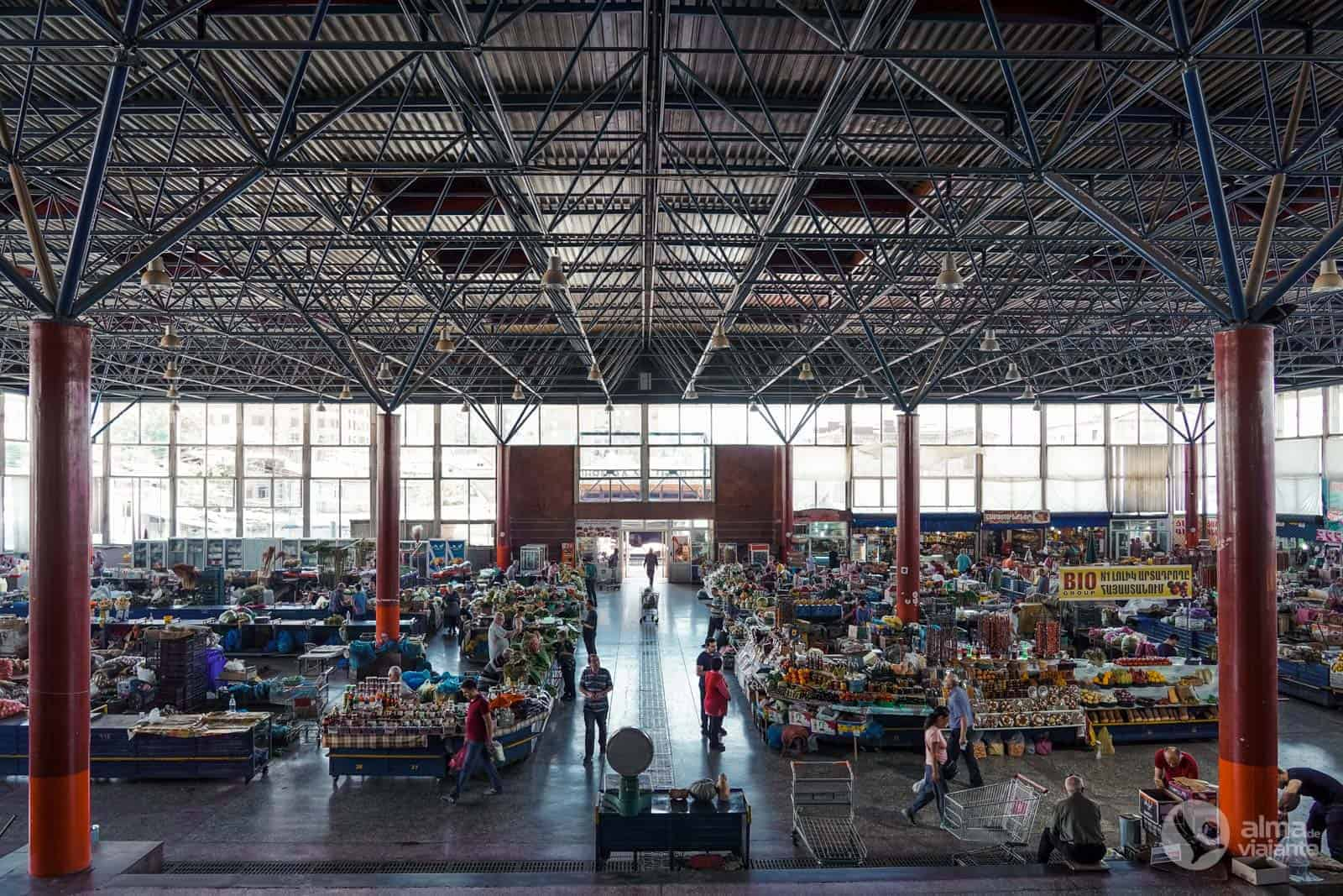 Visitar Yerevan: Gum Market