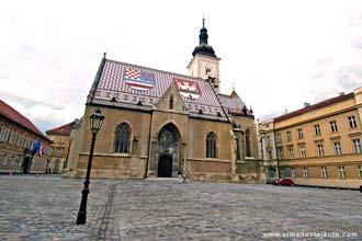 Centro histórico de Zagreb, Croácia